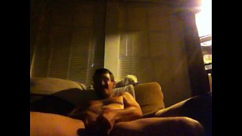 Crystal meth gay porn - Guy on speed jerking off on his couch