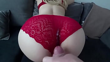 Big ass panty Fucking her with her panties on