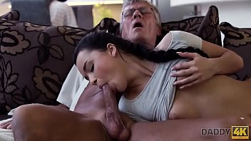 DADDY4K. Cock of mature dad satisfies girl's need in good dicking porno izle
