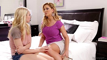 Free sexy girl on girl porn Step-mother cherie deville licking alli raes pussy
