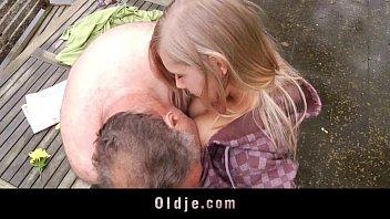 Incredible Sex Between Sweet Teenager And Old Bastard