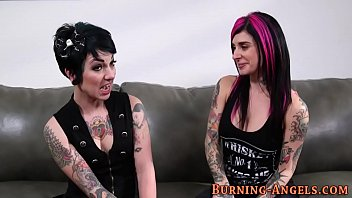 Goth sluts asshole eaten