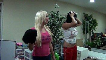 Britney Amber & Missy Martinez BTS