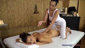 Massage Rooms Tall Brunette Anya Krey And Big Tits Latina Katrina Moreno