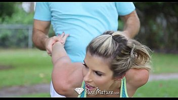 Puremature gorgeous athletic cory chase is fucked after her workout thumbnail