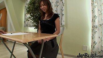 Horny Japanese Step Mom Gets A Creampie