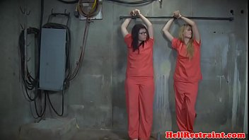 Submissive slaves trained and dominated