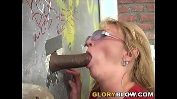 Busty Cougar Kiss Fuck Black Dick - Gloryhole
