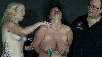 Two amateur slavegirls pain and tears in extreme bdsm