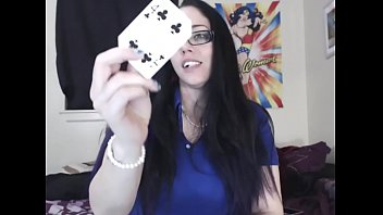 You never want to play cards with a goddess