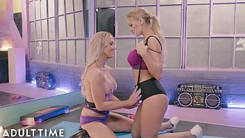Xxx porno with lesbian and shemale Adult time transfixed at the gym with kenzie kayleigh