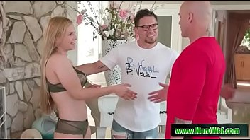 Shower before nuru massage - Derrick Pierce & Sloan Harper