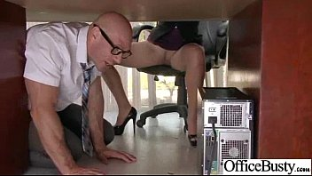 Sex Tape In Office With Busty Gorgeous Girl (lela star) clip-18