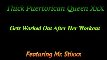 Thick Puertorican Queen Gets Worked Out After Her Workout thumbnail
