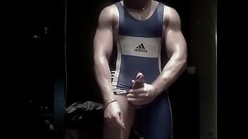 Hot gay gymnast Gymnast cum squirt