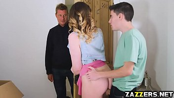 Star Del Ray sucks her neighbors huge cock