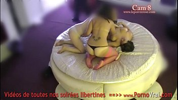 Spy cam at french private party! Camera espion en soiree privee. Part387