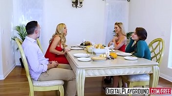 I dont give a fuck he Digitalplayground - thanks giving turkey toss with cherie deville, keiran lee, olivia austin