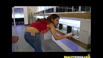 Good aquarium bottom feeder fish - Nataly rose gets her sweet pussy pounded by the infamous milf hunter