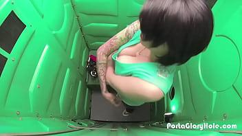 Glory hole store houston tx Porta gloryhole woman strips in public ports potty