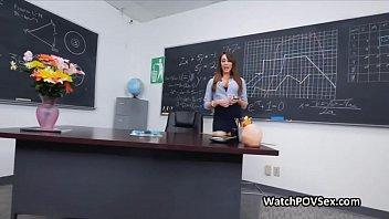 Ass fucking hot milf teacher in classroom - 69VClub.Com
