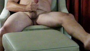 Me jerking off and cumming.