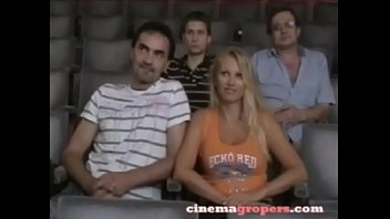 Nikita Valentin Groped In The Cinema !