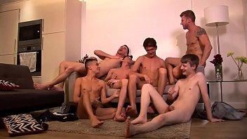 Gay gutter porn Lovely guys got a gangbang