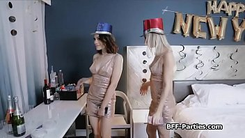 New years cumdown foursome blowjob party Thumbnail