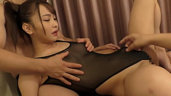 A Beautiful, Slender Woman Is Being Fucked While The Camera Rolls And She's Enjoying A Threesome!