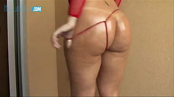 Sara Jay Takes Off Her Tiny Gstring And Slides A BBC Inside Thumb