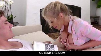 MILF Needs Teen's Cock To Study - Rachael Cavalli