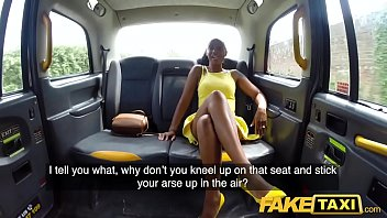 Sexy tennis starts Fake taxi lovely ebony beauty lola marie empties cabbies balls