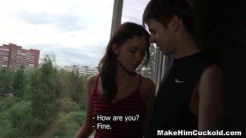 Make Him Cuckold - Sex R. From A Jealous Girlfriend Dusya