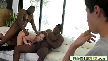 Filthy Cougar Banged In Front Of Her Step Son - Carmen Valentina