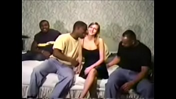 ann gets gang banged by group of black dudes