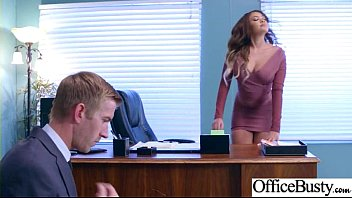 Office Big Tits Girl (Cassidy Banks) Realy Love Hard Baning clip-14
