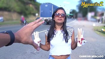MAMACITAZ - Amazing Teen Latina Camila Marin Blows And Fucks Hard On Cam