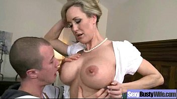 Swollen suckled boobs Hardcore bang on cam with mature busty lady brandi love clip-07