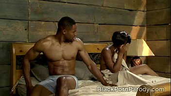 Aunt Viv takes fucks Wills best friend in black porn parody