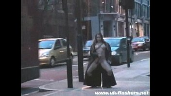Nude in public england Fayes public street flashing