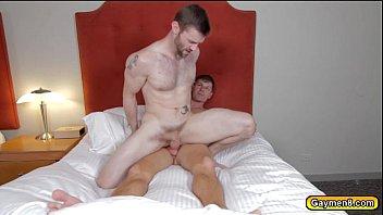Dennis let him swallow his big hard dick