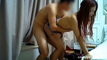 (Amateur) Chinese redhead slut gets banged