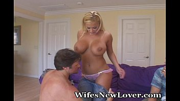 New Lover For Busty Wife