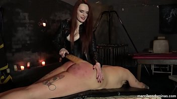 Paddling bare bottom Slavegirl jayne spanked - painful experience for virgin ass