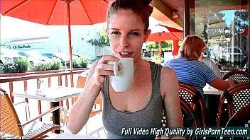 Bethany 2 public teen sexy funny redhead flashing pussy