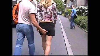 Czech girl outside in Germany