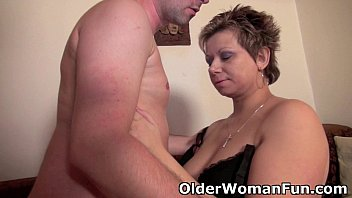 Adult image galleries older women Mommy will drain your balls with her curvy body