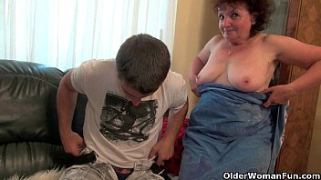 Yong boy old woman sex Mom is made for unloading cocks