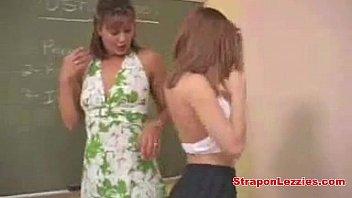 Lesbian Teacher Strapon Student Fuck